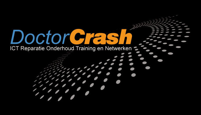 logo van dr. Crash